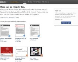 Cách dùng Microsoft Docs trên Facebook