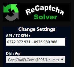 [ CAPTCHA69.COM ] GIẢI CAPTCHA GOOGLE V2 + V3 + CAPTCHA TEXT =>100$/THÁNG/UNLIMIT
